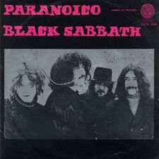 Black Sabbath - Paranoico (single)