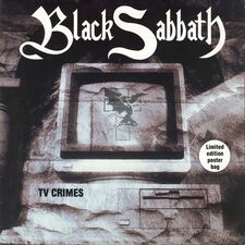 Black Sabbath - TV Crimes 7inch (single)