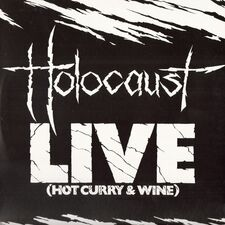 Holocaust - Live (Hot Curry & Wine) LP