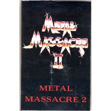 Various Artists - Metal Massacre II Cassette