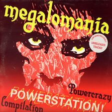 Various Artists - Megalomania Powercrazy Powerstation Compilation LP