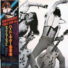 Ted Nugent - Free For All LP