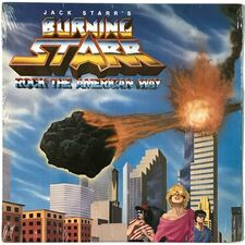 Jack Starr's Burning Starr - Rock The American Way LP PB 6048