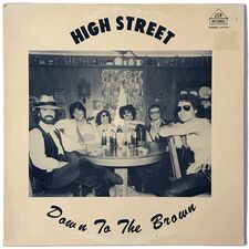 High Street - Down To The Brown LP JSR LP 1512
