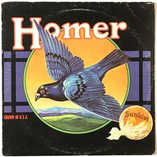 Homer - Grown In The USA LP