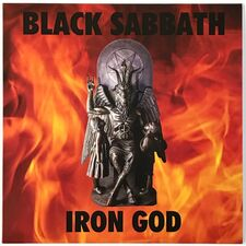 Black Sabbath - Iron God LP YDLP007