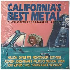 Various Artists - California's Best Metal LP GWD90526