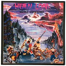 Heavy Load - Metal Conquest LP BR-157-1