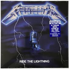 Metallica - Ride The Lightning LP BLCKND004R-1