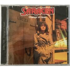 Saracen - Change Of Heart CD GBR 55 0 08