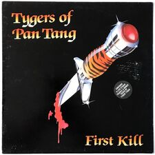 Tygers Of Pan Tang - First Kill LP Neat 1037