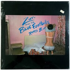 Zorro And The Blue Footballs - Rated Blue LP NR14948