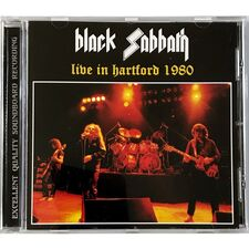 Black Sabbath - Live In Hartford 1980 CD Top 43