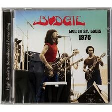 Budgie - Live In St. Louis 1976 CD AIR 25