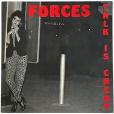 Forces - Talk Is Cheap LP VRT 1228864