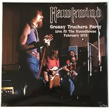 Hawkwind - Greasy Truckers Party Live At The Roundhouse February 1972 LP Atos 10