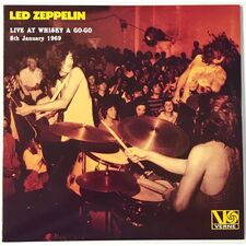 Led Zeppelin - Live At Whisky A Go-Go 5th January 1969 LP VER 24