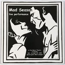Mad Season - Live Performance LP WMS 001