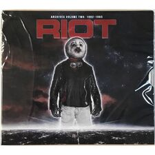 Riot - Archives Volume 2: 1982-1983 CD/DVD HRR 554 CD