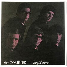 Zombies, The - Begin Here LP LK 4679
