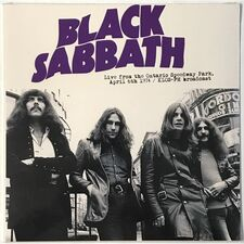 Black Sabbath - Live From Ontario Speedway Park April 6th 1974 LP MIND717