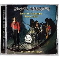Black Sabbath - Live In Lausanne, April 1970 CD TOP 50