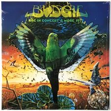 Budgie - BBC In Concert & More 1972 LP HR 7219