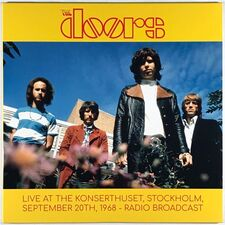 Doors - Live At The Konserthuset, Stockholm Sept 20th, 1968 2-LP SUPA1205