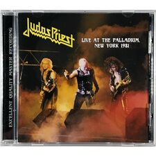 Judas Priest - Live At The Palladium, New York 1981 CD TOP 51