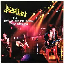 Judas Priest - Live At The Palladium, New York 1981 LP VER 83