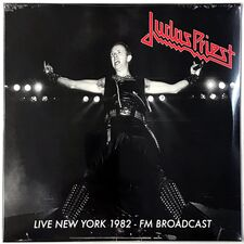 Judas Priest - Live In New York 1982 (1979) 2-LP Mind 0729