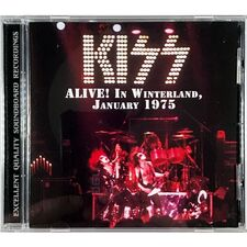 Kiss - Alive In Winterland, January 1975 CD TOP 52