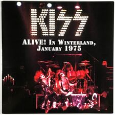 Kiss - Alive In Winterland, January 1975 LP VER 81