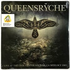 Queensryche - Live At The Civic Center San Jose, CA 30th Oct 1983 LP KLLP5087