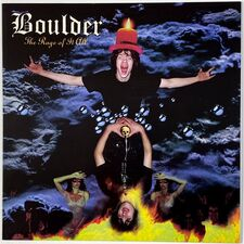 Boulder - The Rage Of It All LP (Blue) ROF 003