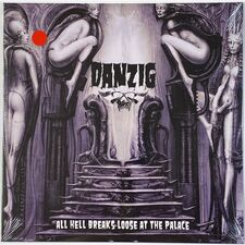 Danzig - All Hell Breaks Loose At The Palace LP GD 7589