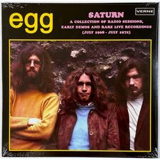 Egg - Saturn A Collection Of Radio Sessions, Early Demos and Rare Live Recordings 2-LP VER 46