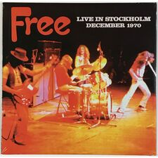 Free - Live In Stockholm December 1970 LP Atos 8