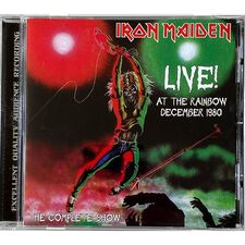 Iron Maiden - Live At The Rainbow December 1980 CD TOP 55