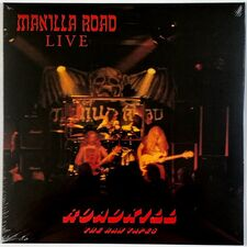 Manilla Road - Roadkill The Raw Tapes LP HRR 551