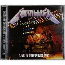 Metallica - Live In Gothenburg 1987 CD TOP 21