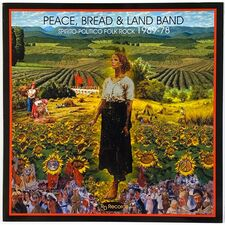 Peace, Bread & Land Band - Spirito-Politico Folk Rock 1969-1978 LP RD 18