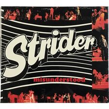 Strider - Misunderstood CD PCDP69