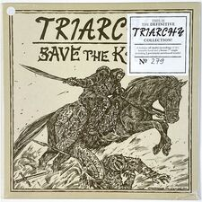 Triarchy - Save The Khan LP (+7inch) HRR 416