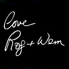 Roger and Wendy - Love Rog and Wem CD