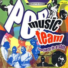 Pop Music Team - Society is a Shit CD CSM-216