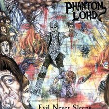 Phantom Lord - Evil Never Sleeps LP Flame 002