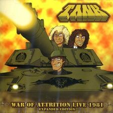 Tank - War of Attrition Live 1981 CD Masscd1112dg