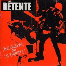 Detente - Recognize No Authority CD Cog 03