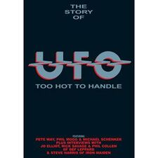 UFO - Too Hot To Handle (1969-1993) DVD DR-4479